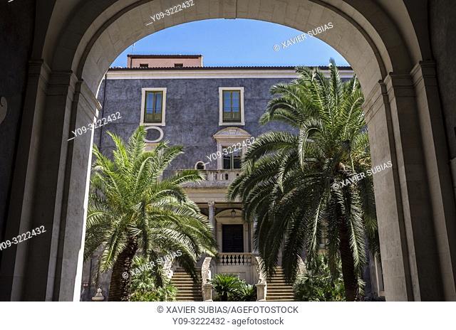 Palazzo San Giuliano, Catania, Sicily, Italy