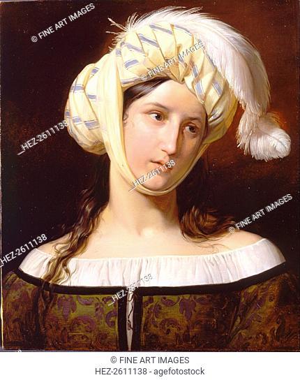Rebecca, ca 1835. Artist: Molteni, Giuseppe (1800-1867)