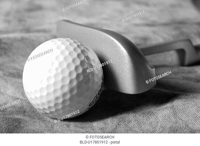 sports equipment, club, golf, leisure, sports, golf ball, ball
