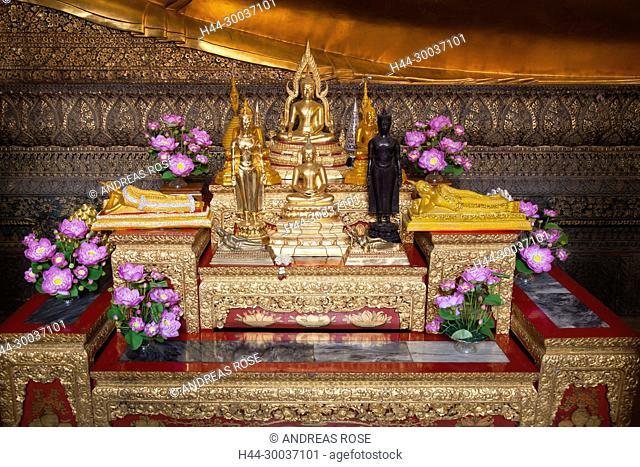 Königspalast , Wat Phra Kaew, Bangkok, Thailand