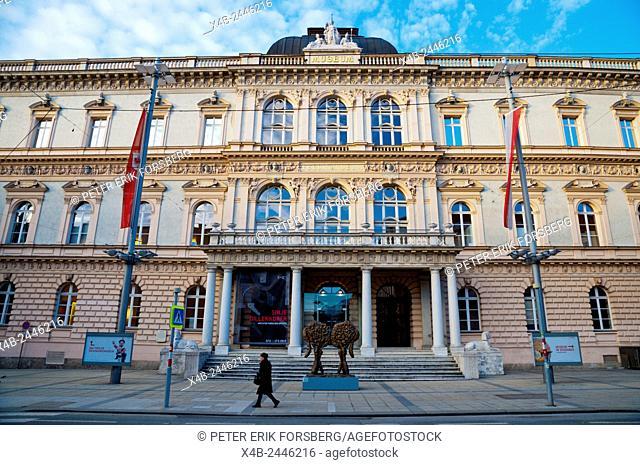 Tiroler Landesmuseum Ferdinandeum, Museum of Tyrolean art, Innsbruck, Inn Valley, Tyrol, Austria