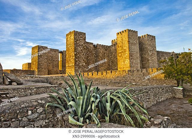Alcazaba or Castle of Trujillo, Castillo de Trujillo, Trujillo, Caceres Province, Extremadura, Spain, Europe