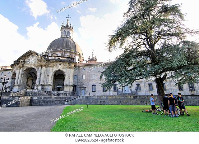 Sanctuary of Loyola or Shrine and Basilica of Loyola, Loyola Basilica in Azpeitia, Azpeitia, Basque Country, Spain