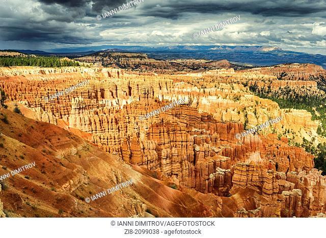 Rocky landscape,Bryce Canyon,Utah,USA