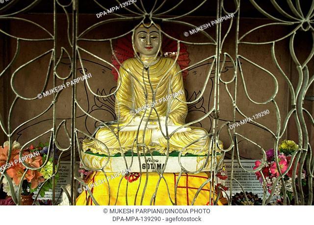 Statue of lord Buddha , India