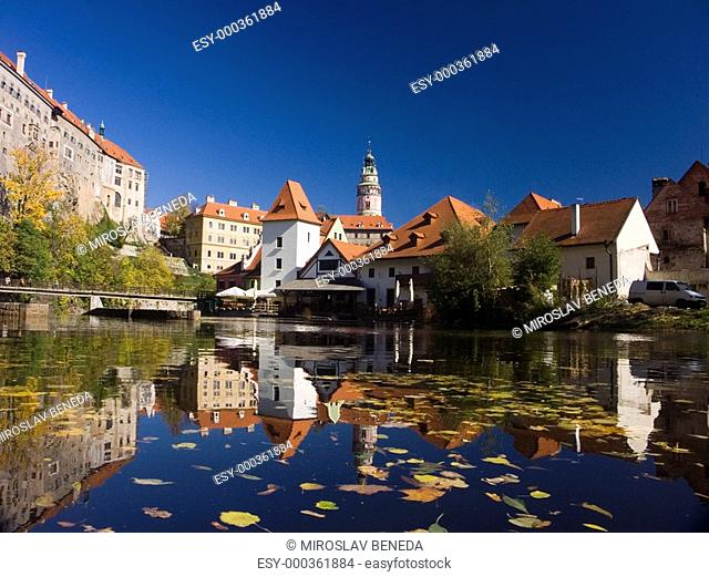 Czech Republic - autumn in Cesky Krumlov