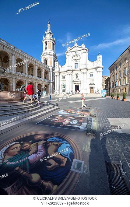 Basilica di loreto, Loreto village, Ancona district, marche, italy