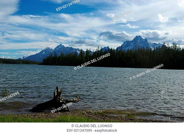 One of many lakes in Grand Teton National Park, Wyoming