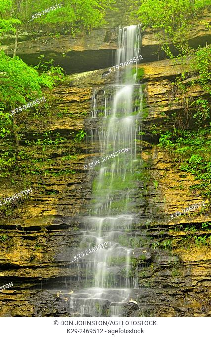 Twin Falls, Buffalo National River, Arkansas, USA