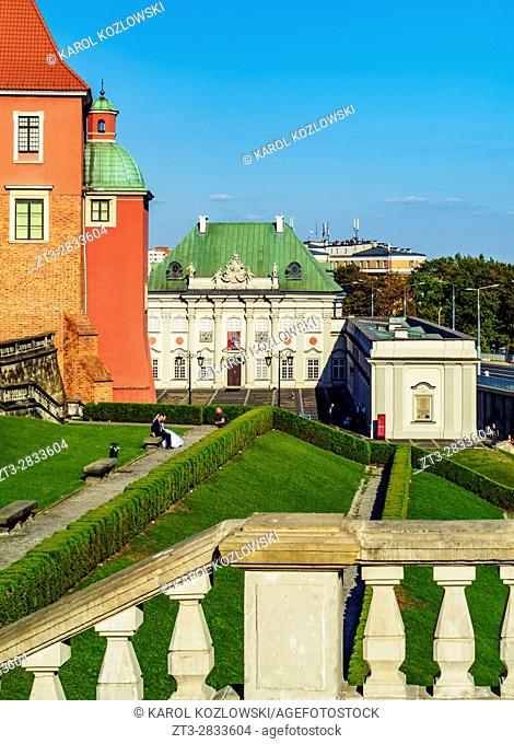 Poland, Masovian Voivodeship, Warsaw, Old Town, Copper-Roof Palace