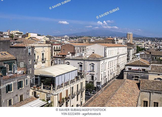 Catania, Mount Etna, Sicily, Italy