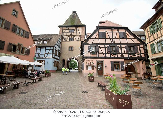 Turckheim picturesque village in Alsace France