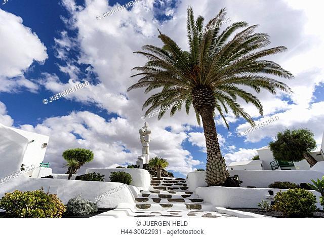 Al Campesino Monument by Manrique , Lanzarote, Spain