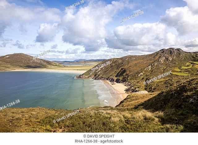 Trannarosa Bay and Melmore Head, part of the Wild Atlantic Way, County Donegal, Ulster, Republic of Ireland, Europe