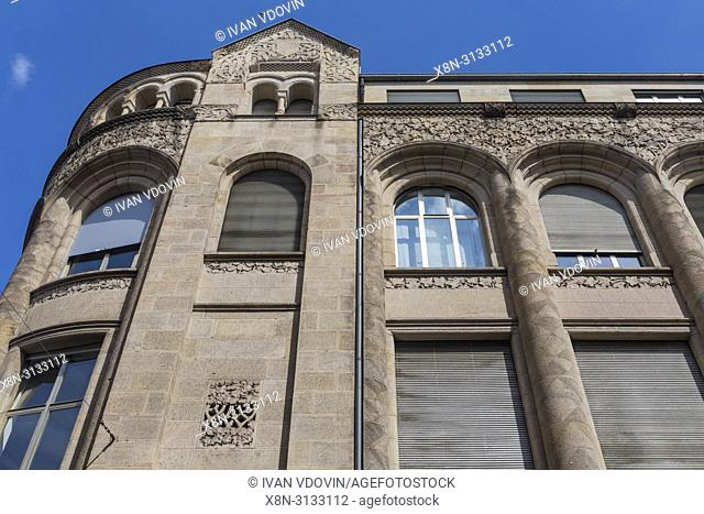 Bankhaus Homburger (1901), Karlstrasse, Karlsruhe, Baden-Wurttemberg, Germany