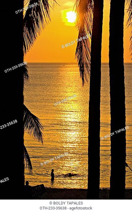 Sunset at Pagudpud, Philippines