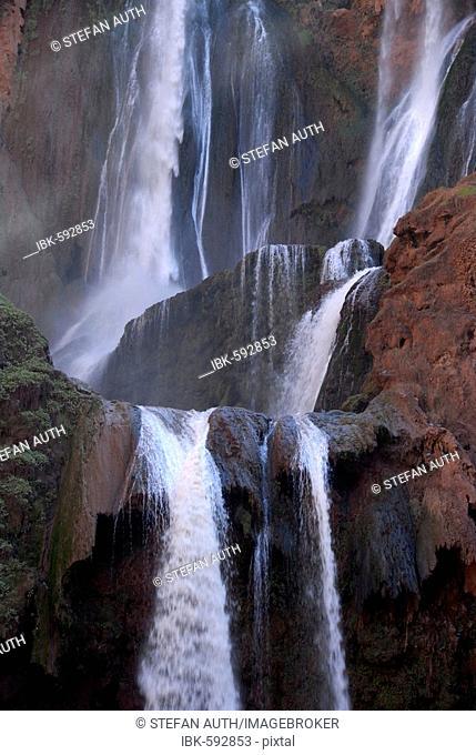 Waterfall Cascades d'Ouzoud Middle Atlas Morocco