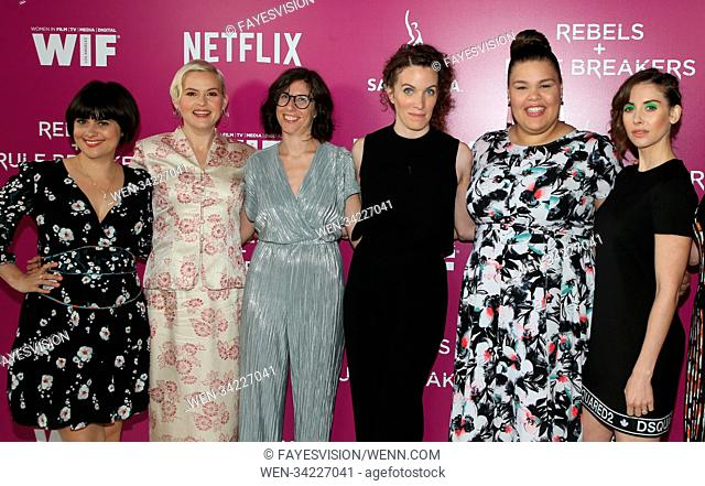 Netflix 'Rebels and Rules Breakers' For Your Consideration event held at Netflix FYSee Space in Beverly Hills, California