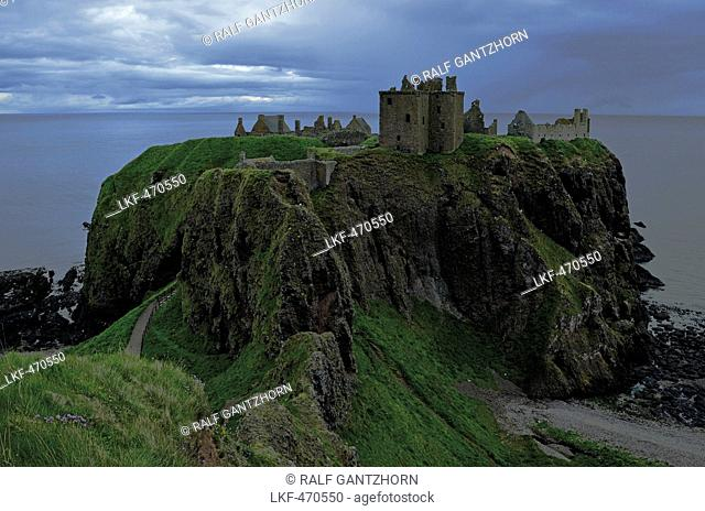 Dunnottar Castle, Aberdeenshire, Scotland, Great Britain