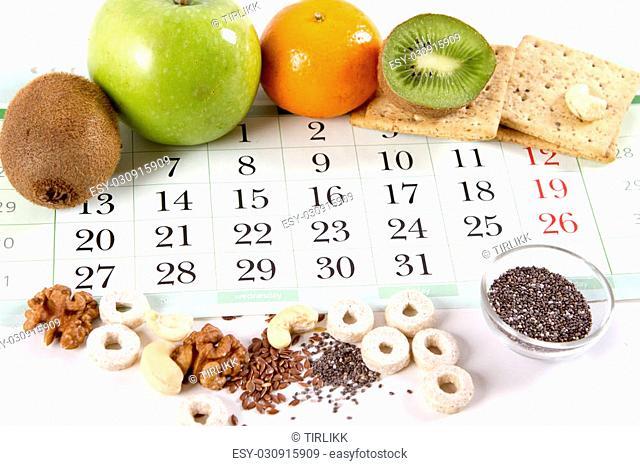healthy food breakfast healthy snack. diet consept