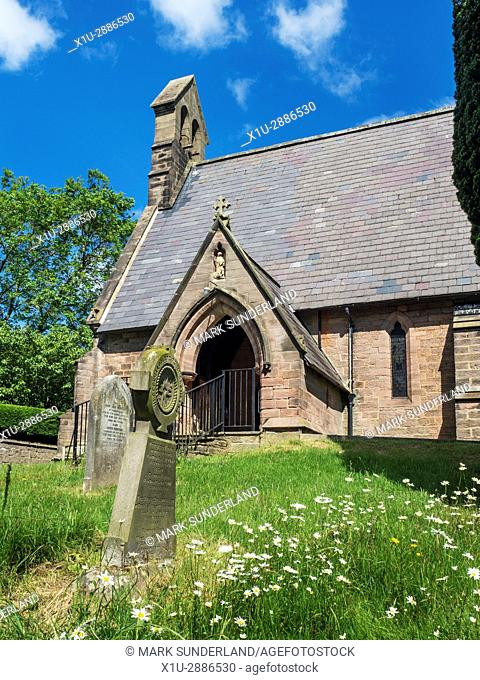 Saint Michael the Archangel Parish Church at Markington North Yorkshire England