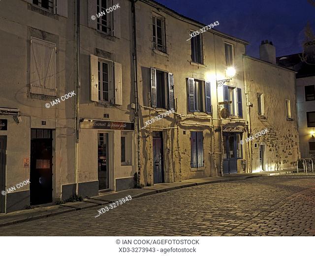 Place de la Fourche, La Rochelle, Charente-Maritime Department, Nouvelle Aquitaine, France