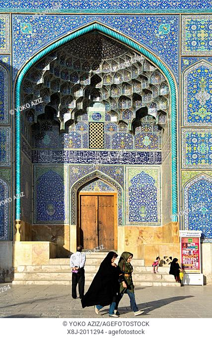 Asia, Iran, Isfahan, Imam square, Sheikh Lotfollah mosque