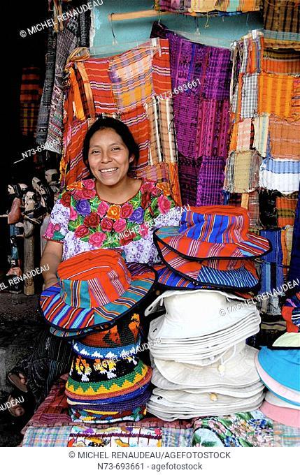 Market, Santiago Atitlan. Guatemala