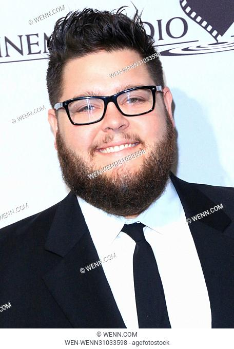 53rd Annual Cinema Audio Society (CAS) Awards at Omni Los Angeles Hotel at California Plaza - Arrivals Featuring: Charley Koontz Where: Los Angeles, California
