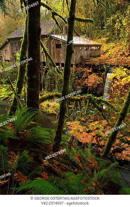 Cedar Creek Grist Mill, Clark County, Washington
