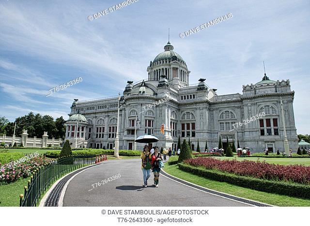 Ananta Samakhom Throne Hall at Dusit Palace in Bangkok, Thailand