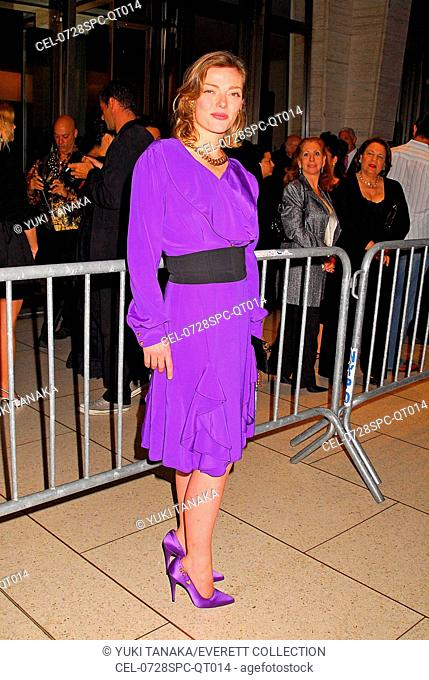 Camilla Rutherford at arrivals for THE DARJEELING LIMITED Opening Night Premiere at the 45th New York Film Festival, Avery Fisher Hall at Lincoln Center