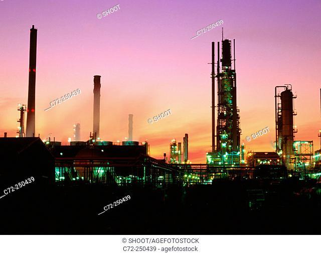 Oil refinery. Melbourne. Australia