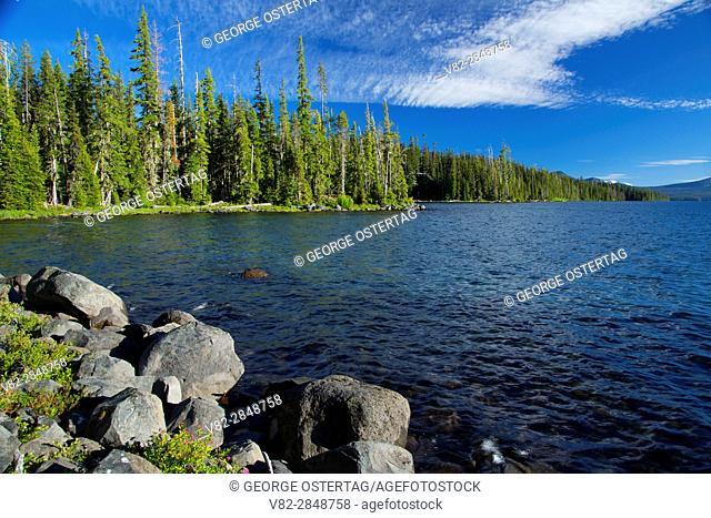 Waldo Lake State Scenic Waterway, Willamette National Forest, Oregon