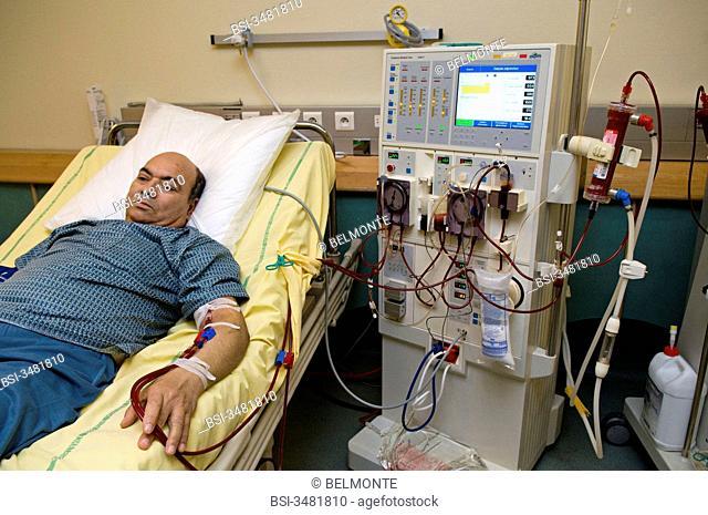 HEMODIALYSIS OF A MAN