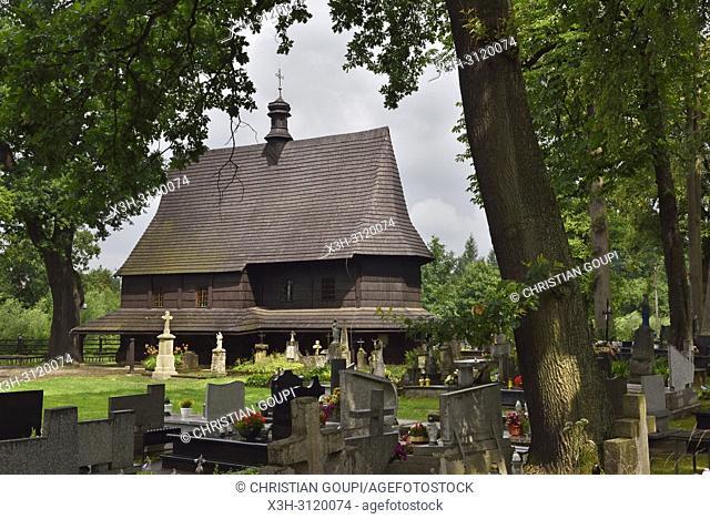 St. Leonard's Church of Lipnica Murowana Malopolska Province (Lesser Poland), Poland, Central Europe