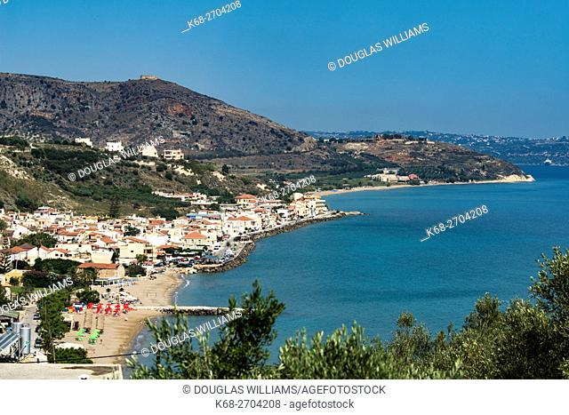 Kalives, or Kalyves, town on the north coast of Chania prefecture, Crete, Greece