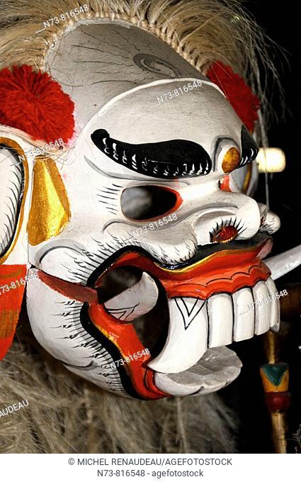 Dance mask, Bali, Indonesia