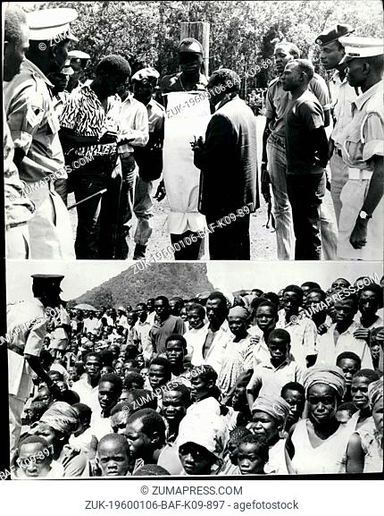 1962 - Uganda Justice: General Idi Amin, on the advice of a specially constituted military committee recently ordered convicted murder to be shot before a...