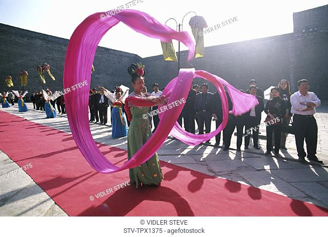 Asia, China, City, Costume, Dance, Dynasty, Holiday, Landmark, Model, Perfroming, Province, Released, Shaanxi, Tang, Tourism, Tr