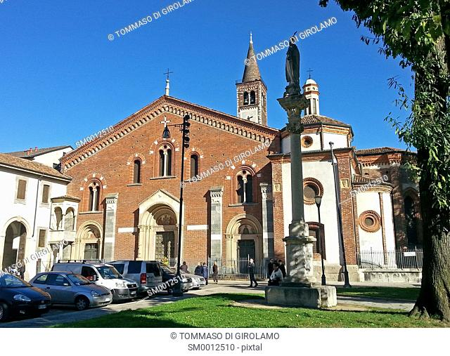 Italy, Milan, Church of St. Eustorgio