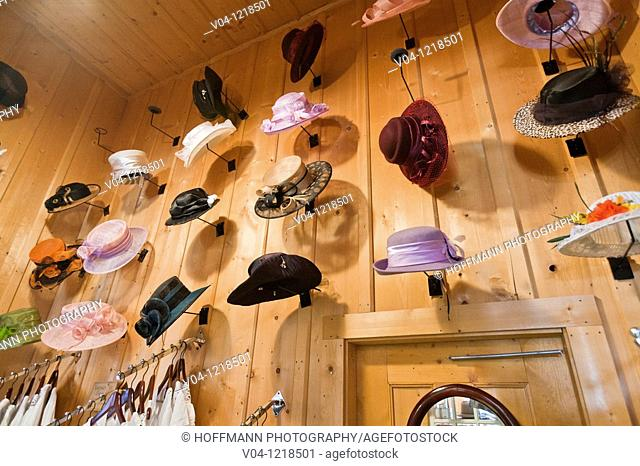 f2fd7a99d0a The interior of a hatmaker s shop in the historic village of Barkerville