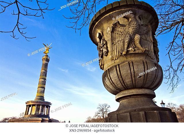 Berlin Siegessäule, Victory Column, Berlin, Germany, Europe
