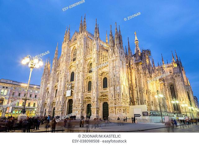 Milan Cathedral, Duomo di Milano, Italy