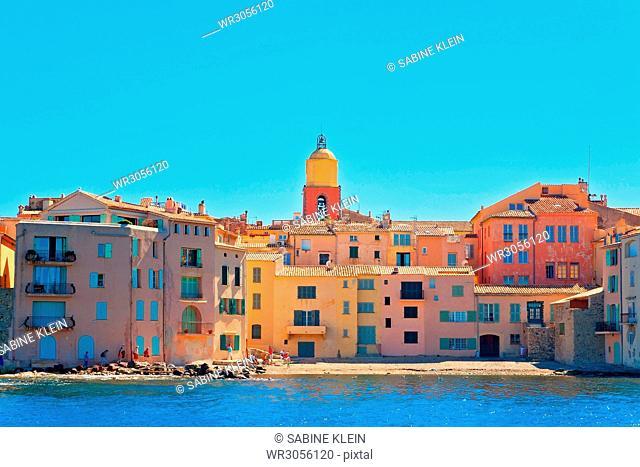Saint-Tropez, Côte d'Azur, Frankreich