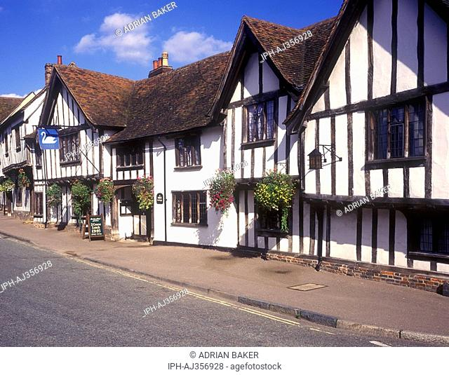 The Swan Hotel in the olf village of Lavenham