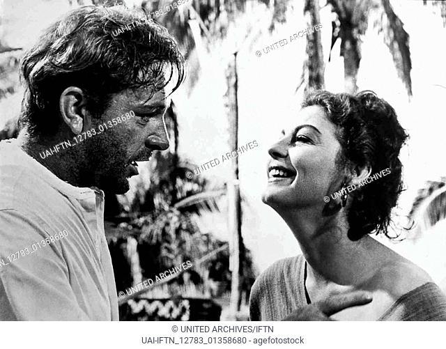Die Nacht des Leguan aka. The Night of the Iguana, USA 1964 Regie: John Huston Darsteller: Richard Burton, Ava Gardner, Deborah Kerr