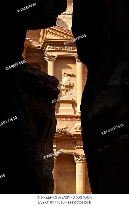 Monastery Petra mountains