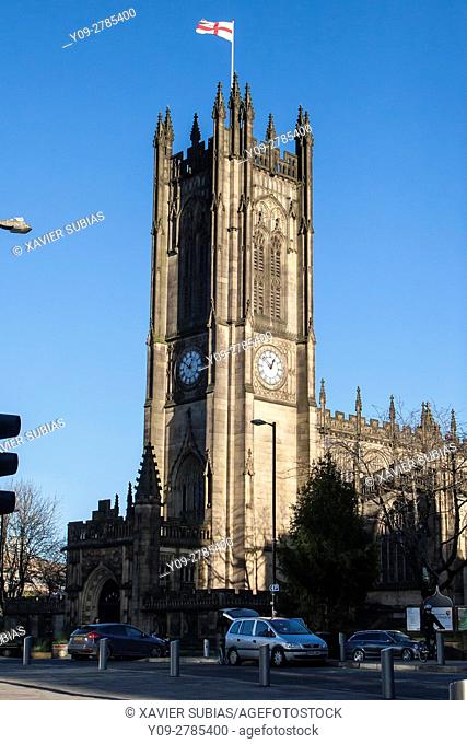 The Cathedral and Collegiate Church of St Mary, St Denys and St George in Manchester, Manchester, England, United Kingdom