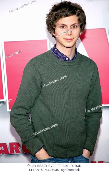 Michael Cera at arrivals for YEAR ONE Premiere, AMC Loews Lincoln Square Theatre, New York, NY June 15, 2009. Photo By: Jay Brady/Everett Collection